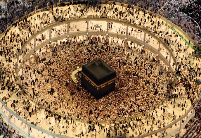 A La Mecque le 16juillet 2015.