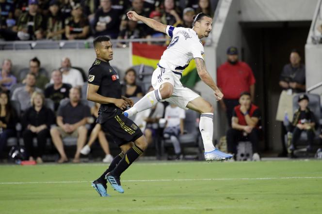 Zlatan Ibrahimovic,le 25 août à Los Angeles.