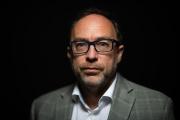 Jimmy Wales, cofondateur de Wikipédia, à Paris, en mai.