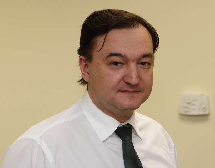 Photo de l'avocat russe Sergei Magnitsky, publiée le 15 novembre 2010, par Hermitage Capital Management et prise le 29 décembre 2006, à Moscou.