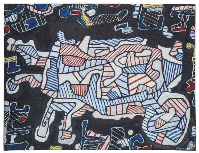«La Brouette» (1964), deJean Dubuffet.