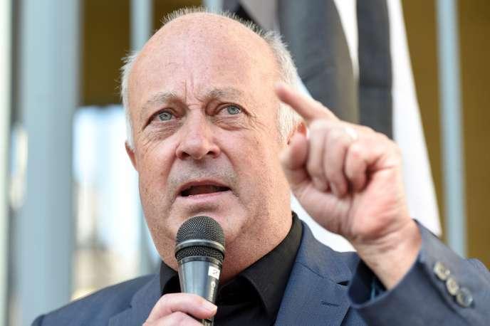 Le maire de Langouët, Daniel Cueff, le 22 août à Rennes.