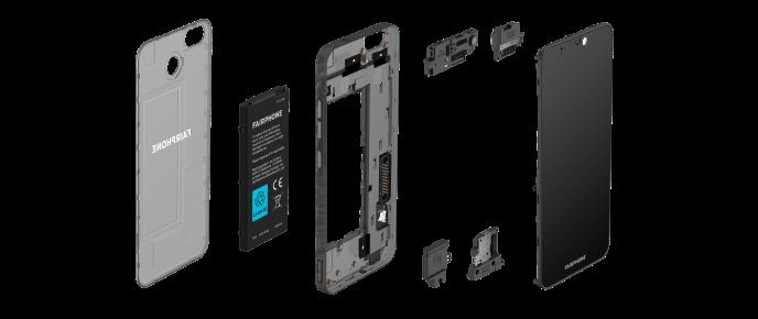 Fairphone a présenté, mardi 27 août, le Fairphone 3, un appareil dont les principaux composants peuvent être aisément démontés et remplacés par l'utilisateur.