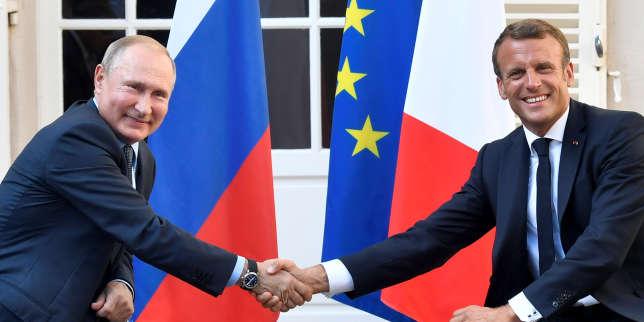 «La Russie est devenue incontournable et Emmanuel Macron n'entend plus la contourner»