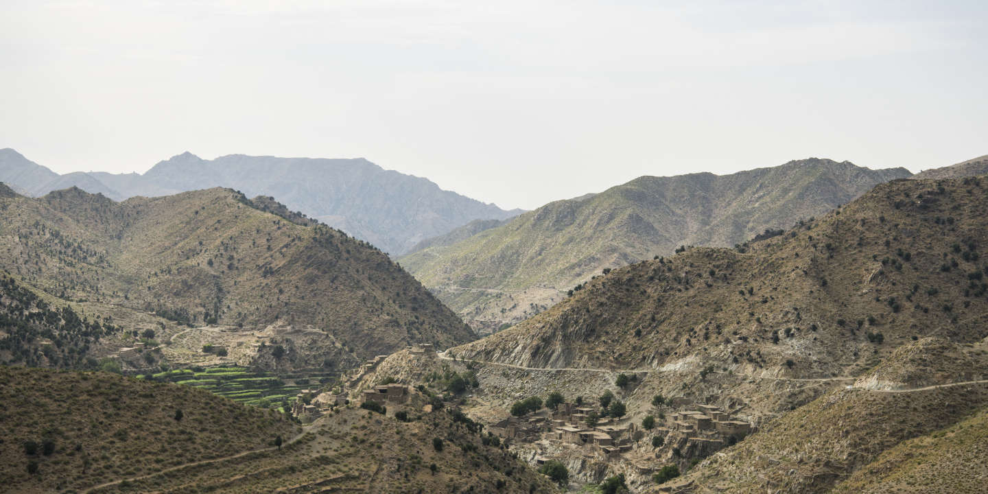 The view up the valley from Chinar base, which is occupied by a local militia, deep in the remote district of Nazyan, in eastern Afghanistan's Nangarhar Province.   Around six years ago, after the Taliban conducted several suicide bombings and other atrocities and then, in 2015, fighters pledging allegiance to the Islamic State (IS) established an Afghan branch in Nangarhar, local men decided to take up weapons to defend themselves and the district. Malik Deqar (not pictured) lost three sons in a Taliban bombing and was elected by residents leads the militia, or uprising movement as it is sometimes referred to, which has more than 500 formal fighters who are paid modest salaries and supplied with weapons by Afghanistan's intelligence agency, the National Directorate of Security (NDS). Fighters manning checkpoints deep in Nazyan's main valley said they haven't fought with IS since clearing operations pushed the militants toward the Pakistani border approximately eight months ago.