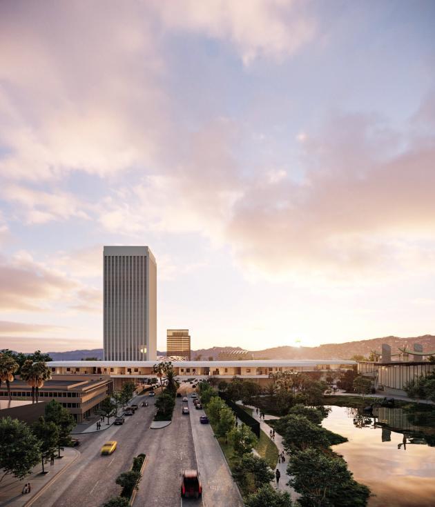 Le Los Angeles County Museum of Art (Lacma) repensé par le Suisse Peter Zumthor enjambera le Wilshire Boulevard.
