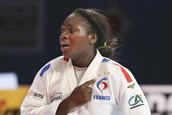A Tokyo, Clarisse Agbegnenou (– 63 kg) remporte son quatrième titre mondial.