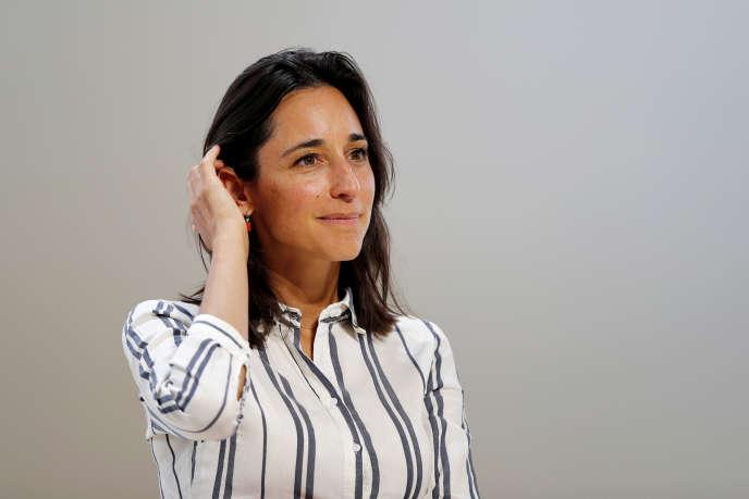 La secrétaire d'Etat à la transition écologique, Brune Poirson, le 28 août.
