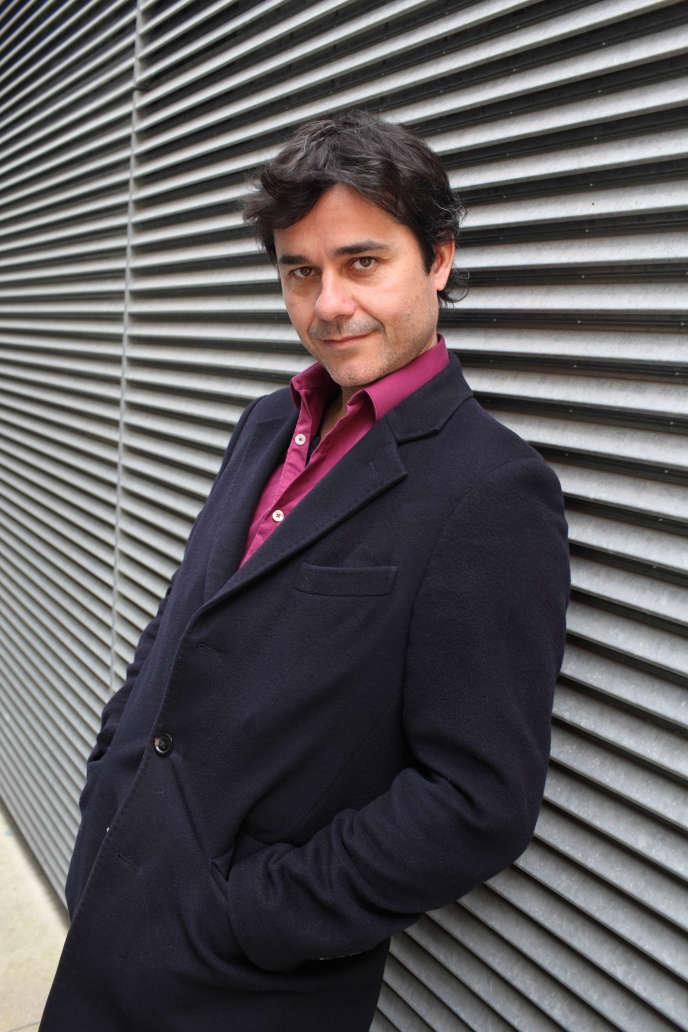 L'écrivain Laurent Binet, en 2018.