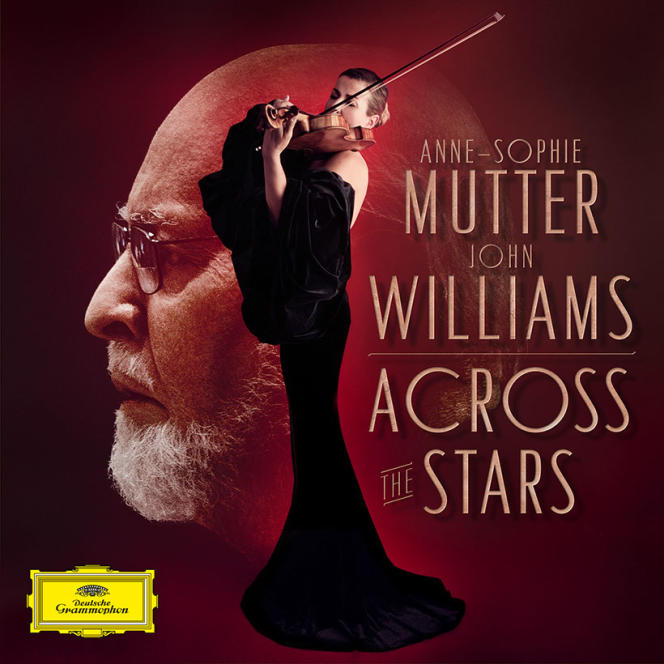 Pochette de l'album « Across The Stars », de John Williams.