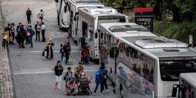 A Paris, le camp de migrants du parc de la Villette évacué