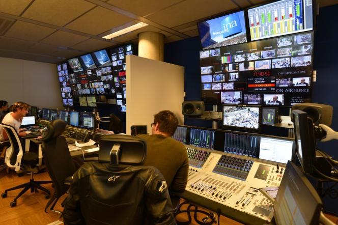 A Franceinfo, la chained'information de l'audiovisuel public, en août 2016.