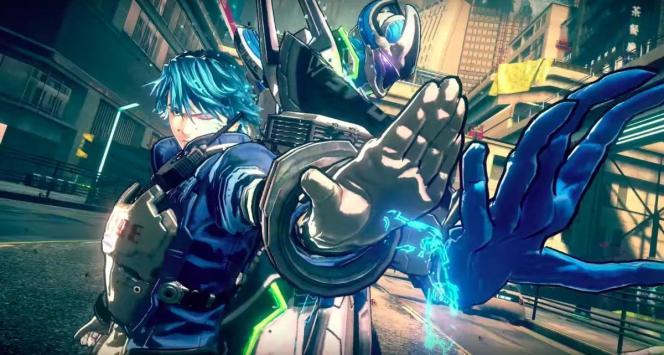 Au cœur des mécaniques de jeu, la chaîne qui unit les deux héros à leur« Légion», un robot d'attaque mutant.