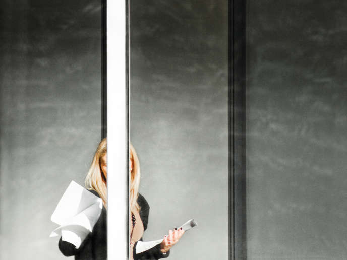 Photo extraite de la série« La Photocopieuse», de Julien Benard.