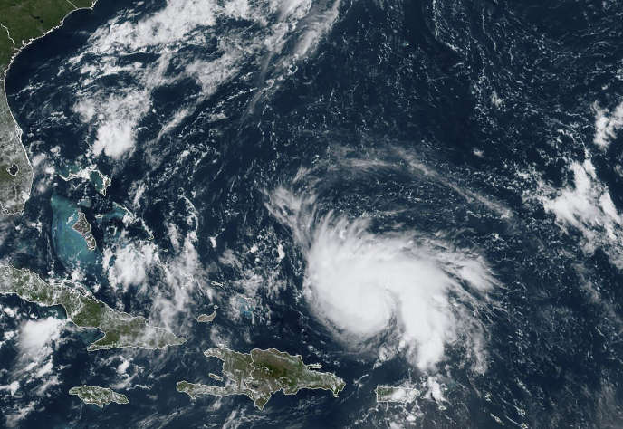 L'ouragan Dorian, le 29 août.