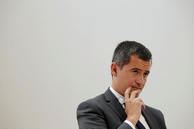 Gérald Darmanin, ministre des comptes publics, lors de l'université d'été du Medef, le29août à Paris.
