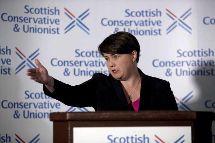 Ruth Davidson, le 29 août à Edimbourg.