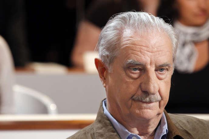 Michel Aumont, le 22 septembre 2011 à Paris.