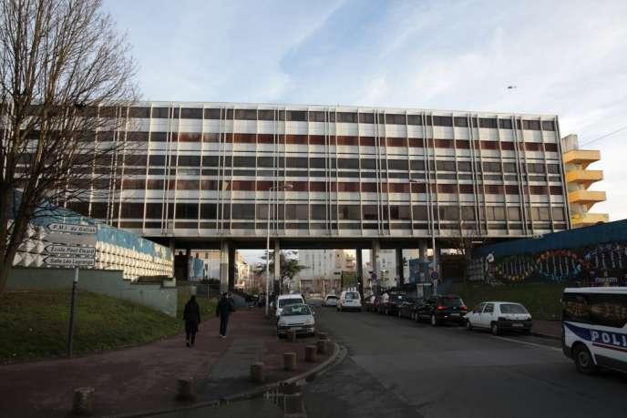 Le quartier de la Rose-des-Vents, à Aulnay-sous-Bois, en février 2017.