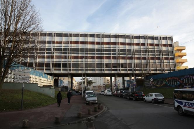 La cité des 3000, à Aulnay-sous-Bois (Seine-Saint-Denis), en février 2017.