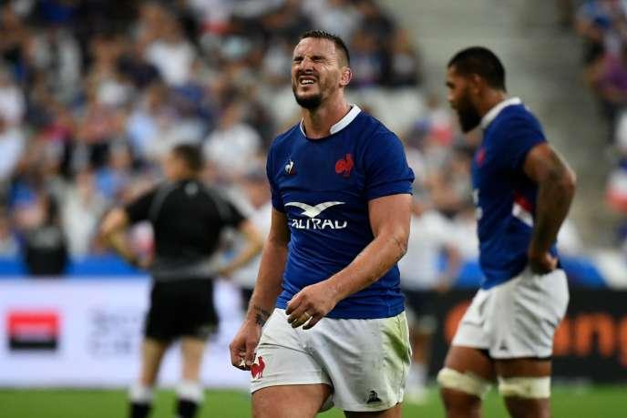 Rugby Louis Picamoles au Stade de France, le 30 août.