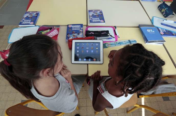 Dans une école à Nice, en 2013.