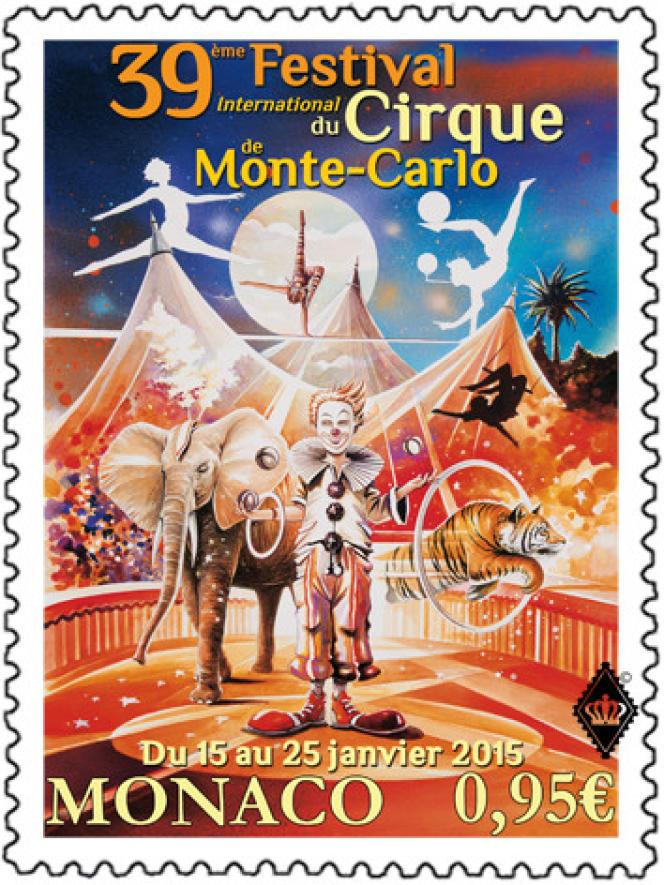 39e Festival international du cirque de Monte-Carlo, 2015, création de Thierry Mordant.