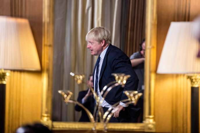 Boris Johnson à Londres, le 30 août.