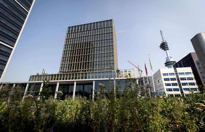 Le nouveau siège de l'Agence européenne du médicament, à Amsterdam, le 27 août.