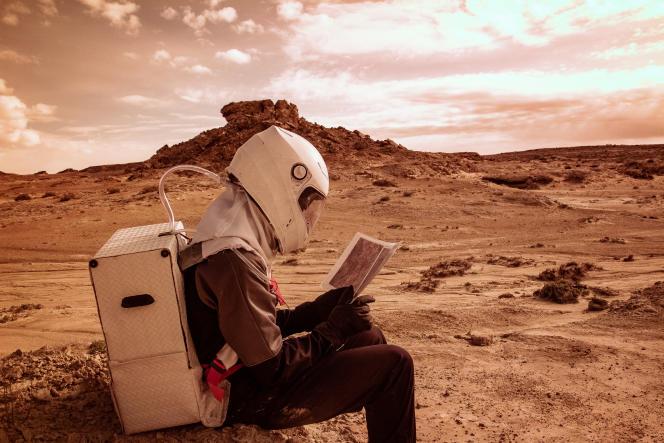 Dans le désert de l'Utah.