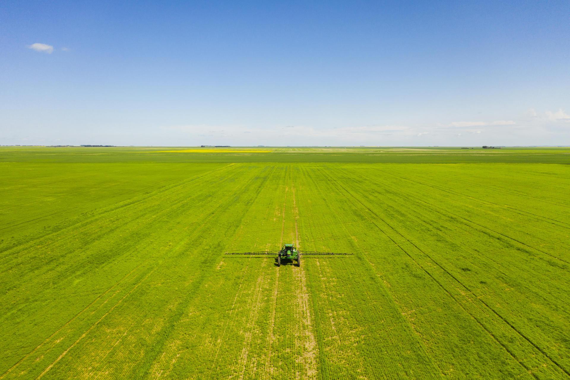 Avec près de 19 millions d'hectares de terres cultivées, la province de la Saskatchewan (Canada) est le grenier alimentaire du pays.