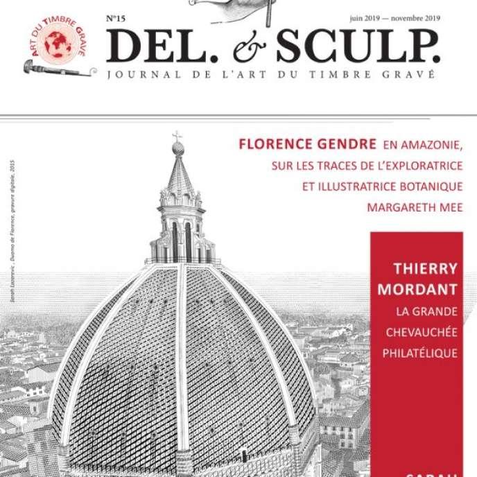 « Del. & Sculp. », revue éditée par l'Art du timbre gravé, 16 pages.