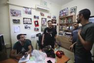 Ayman Odeh, tête de liste des partis arabes pour les législatives, le 29 août àNazareth