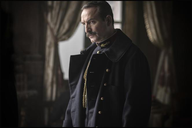 Jean Dujardin incarne le colonel Marie-Georges Picquart dans le film « J'accuse», deRoman Polanski.