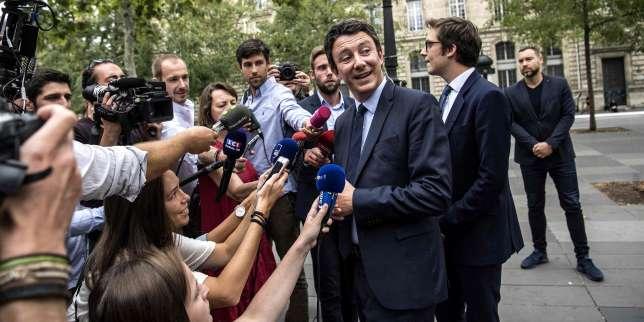 A Paris, Benjamin Griveaux se veut le candidat des classes moyennes