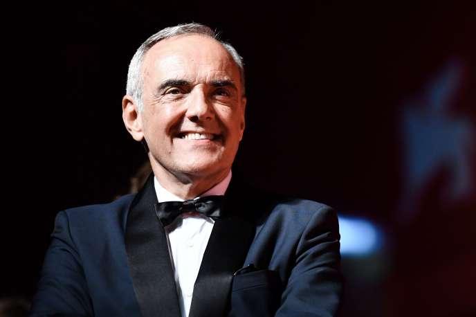 Le directeur artistique de la Mostra de Venise,Alberto Barbera, le 31 août.
