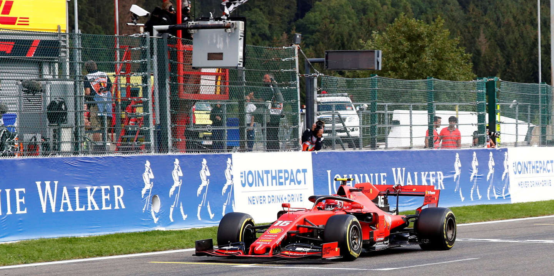 Charles Leclerc remporte sa première victoire en F1 au Grand Prix de Belgique