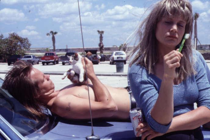 Lee (Larry Fassenden) et Cosy (Lisa Bowman), dans une scène de« River of Grass» réalisé par Kelly Reichardt en 1994.