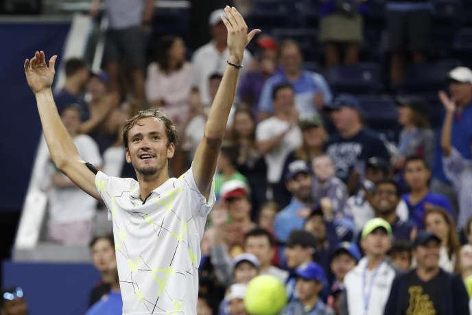 Le «show Medvedev»a animéle dernier US Open, comme en huitième de finale, le 1er septembre, où il avait défié la foule pour se nourrir de ses sifflets.