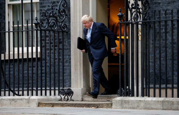 Boris Johnson le 2 septembre.