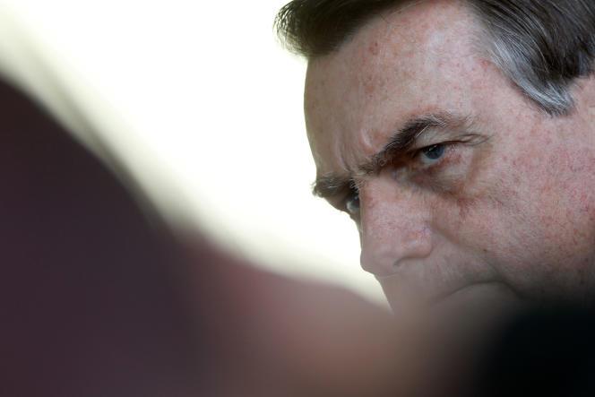 Le président brésilien, Jair Bolsonaro, le 28 août au Chili.