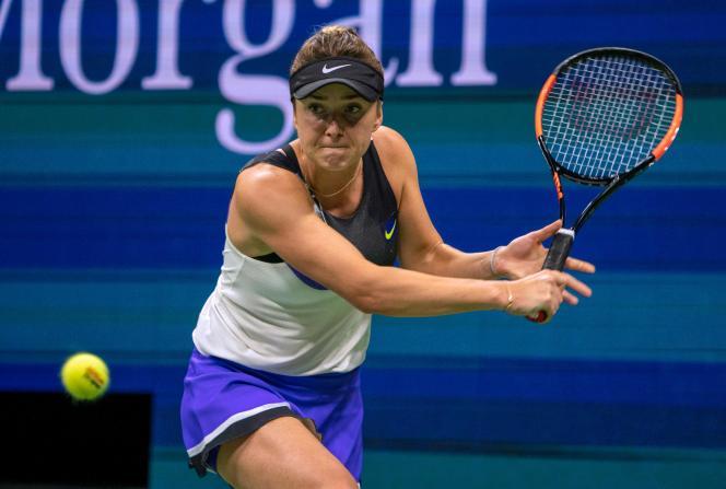 Pour son premier quart de finale à l'US Open, l'Ukrainienne Elina Svitolina (5e mondiale), défie mardi3septembre la Britannique Johanna Konta.