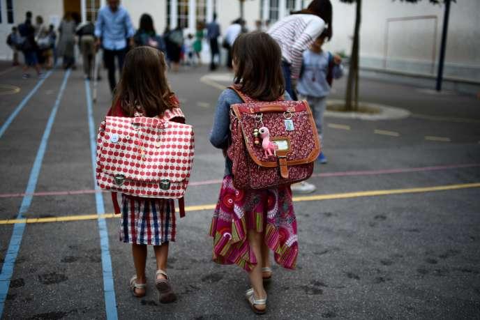 Quelque 12,4 millions d'élèves franchissent lundi2septembre les portes des écoles, collèges et lycées.
