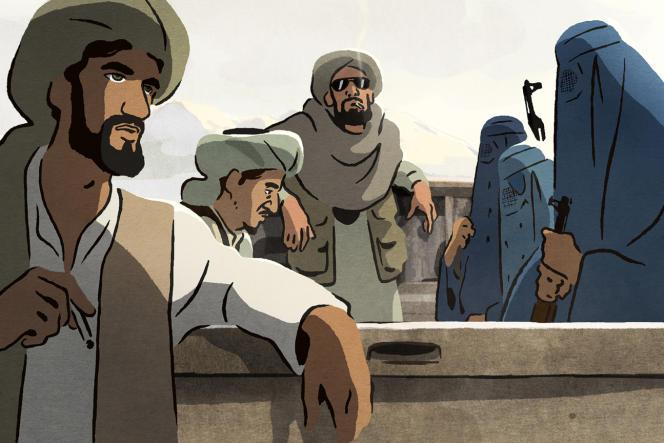 « Les Hirondelles de Kaboul», film d'animation français d'Eléa Gobbé-Mévellec et Zabou Breitman.