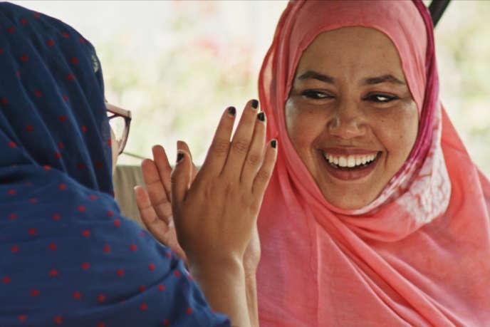 Verida Beitta Ahmed Deiche dans «Le Mariage de Verida», de Michela Occhipinti.