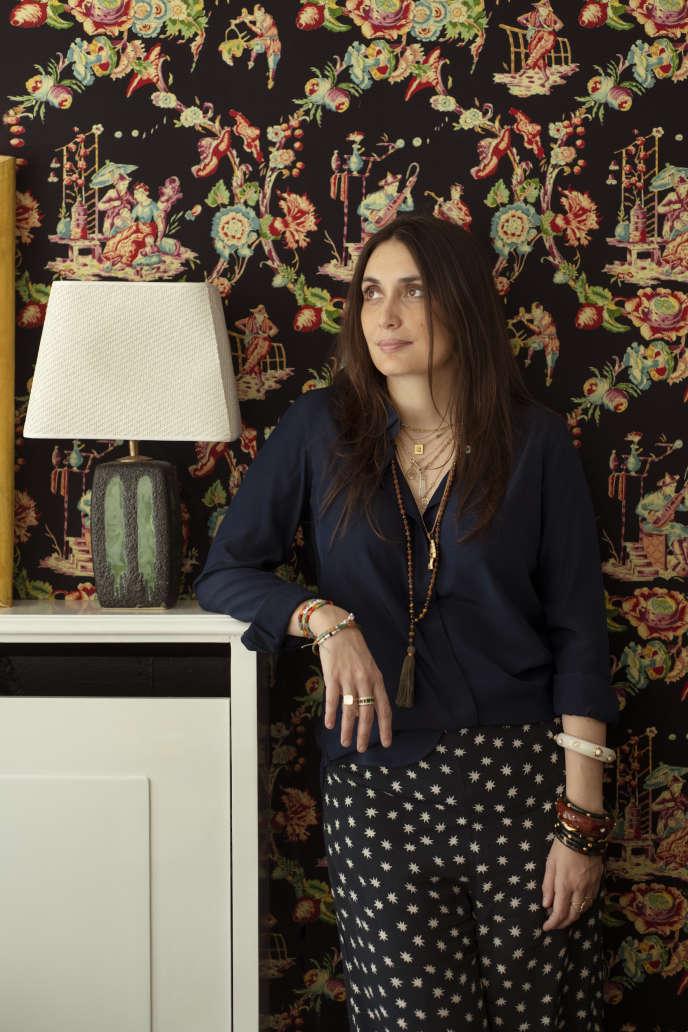 Laura Gonzalez, en avril à Paris.