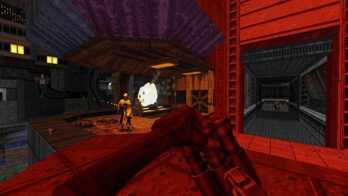 Entre combats brutaux et architecture brutaliste,« Ion Fury» convoque l'esprit d'une période très précise de l'histoire du jeu de tir.