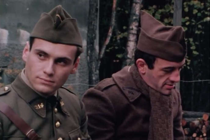 Humbert Balsan et Yves Alfonso dans «Un balcon en forêt» de Michel Mitrani, 1979.