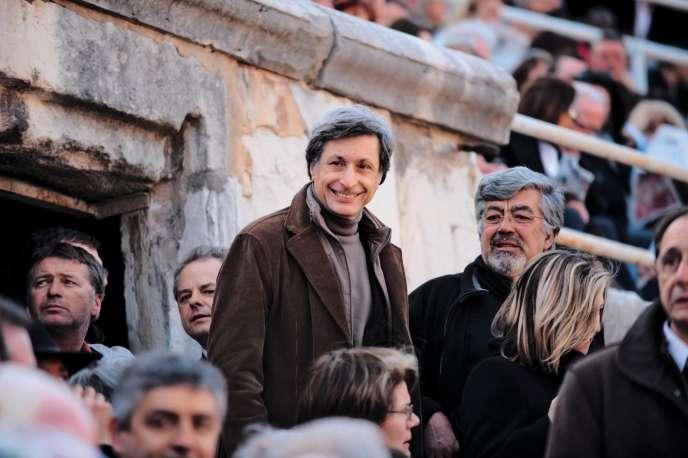 L'ex-président de France Télévisions Patrick de Carolis, à Arles, en 2010.
