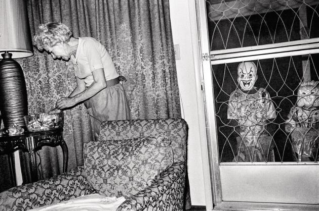 Soirée d'Halloween à Newhall, Californie, 1973 (série«College»).